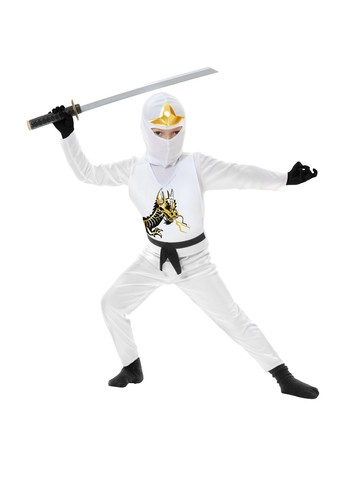 Ninja Avenger Series Ii Child White