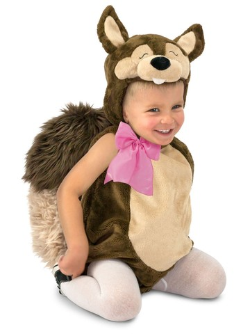 Nutty the Squirrel Children's Costume
