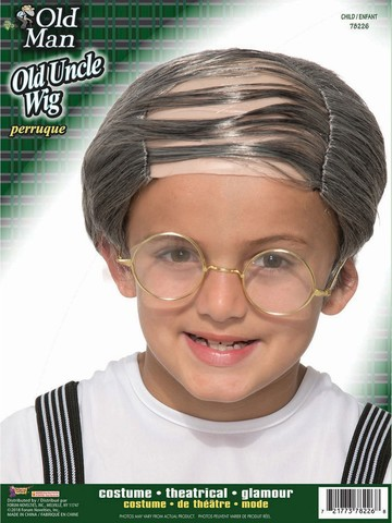 Kid's Old Uncle Wig