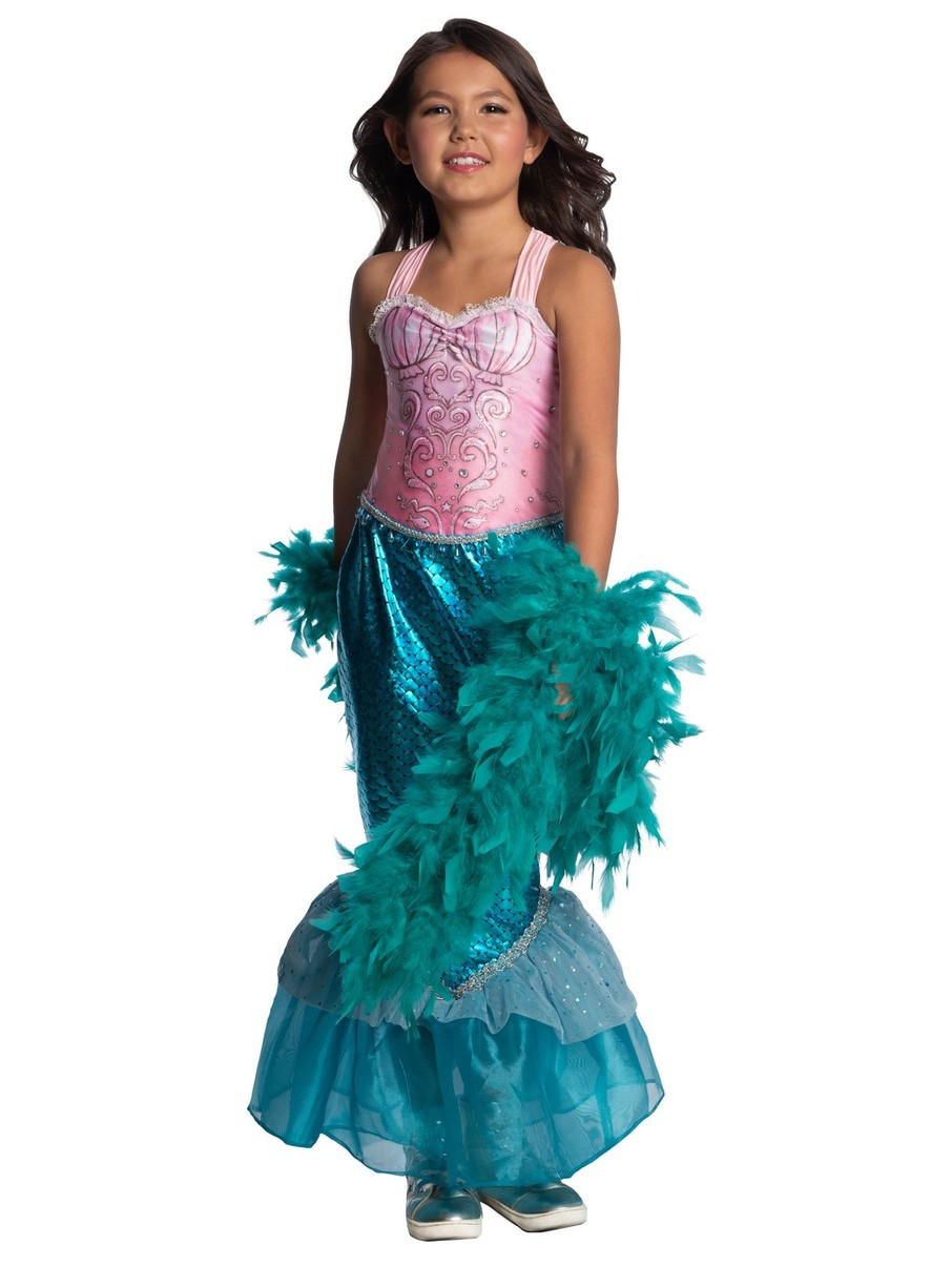 View larger image of Child's Pink Mermaid Costume