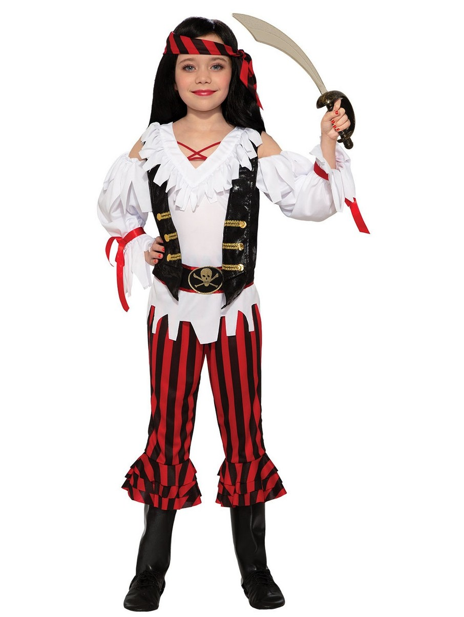 View larger image of Children's Pirate Lass Costume