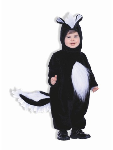 Child's Full Set Skunk Costume