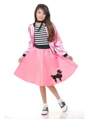 Poodle Skirt for Kids