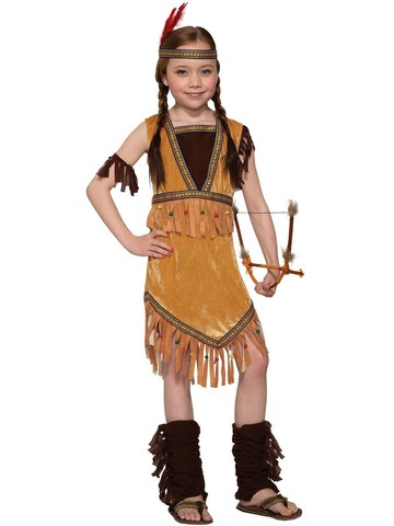 Children's Prairie Princess Costume
