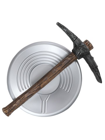 Children's Prospector Pick Axe and Pan