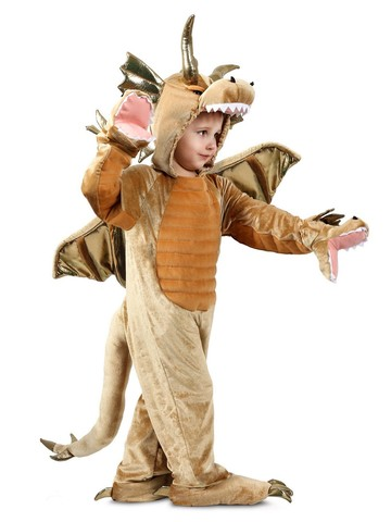 King Dragon Puppet Pals Costume for Kids