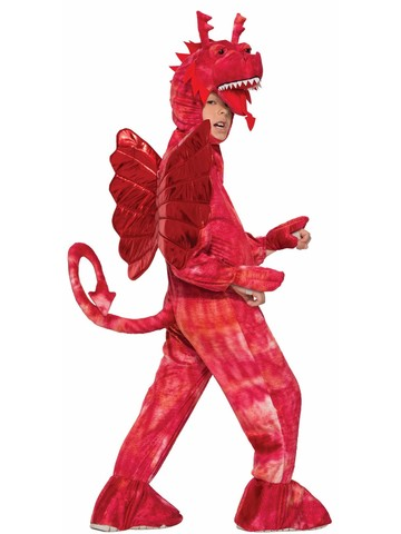 Red Dragon Costume for Child