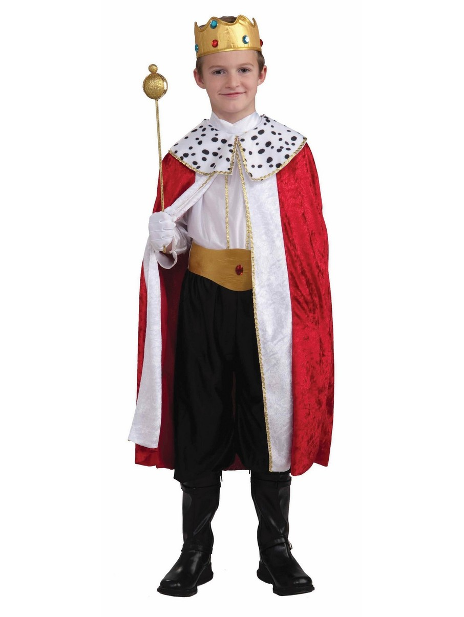 View larger image of Kid's Regal King Costume