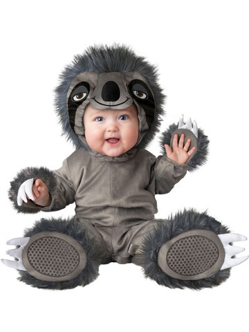 Silly Sloth Child Costume