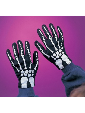 Child Skeleton Gloves Accessory