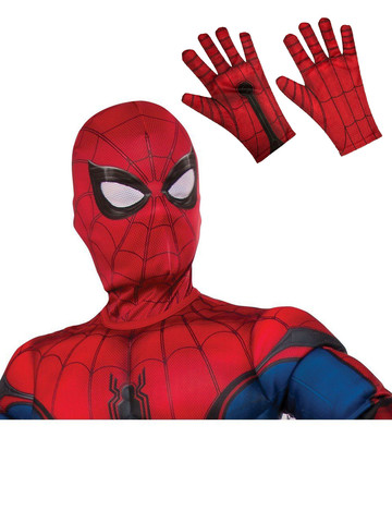 Child Spiderman Mask and Gloves Costume Accessory Kit