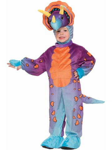 Child's Dinosuar Spunky Triceretop Costume
