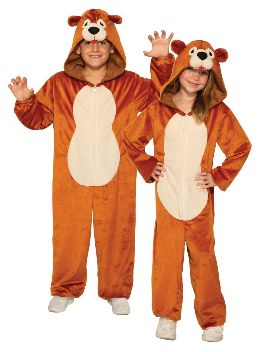 View larger image of Teddy Bear Jumpsuit Costume for Child