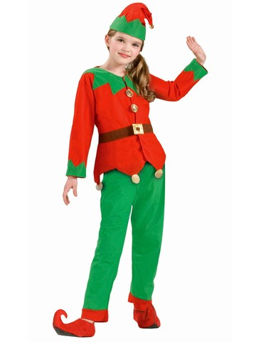 Child Unisex Elf Costume