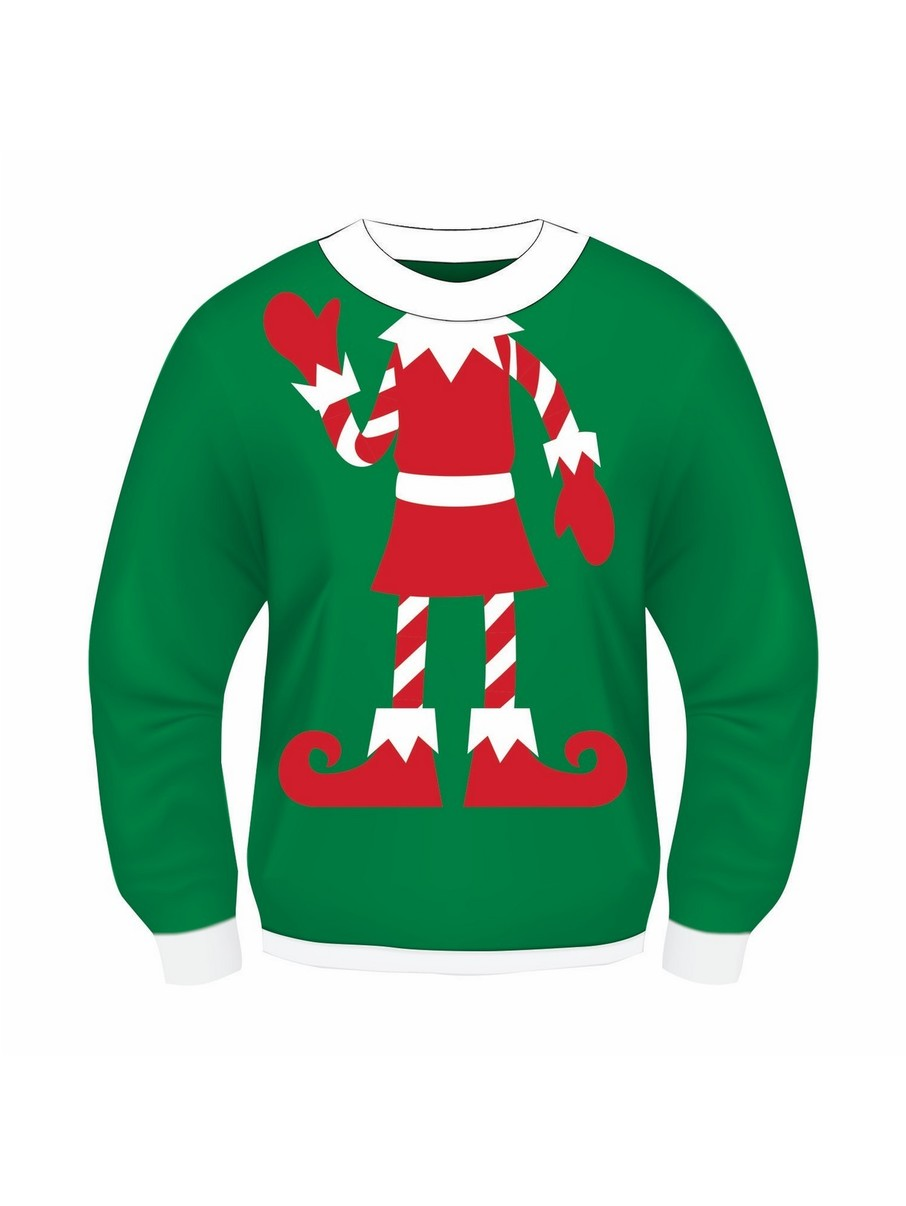 View larger image of Elf Child Sweater