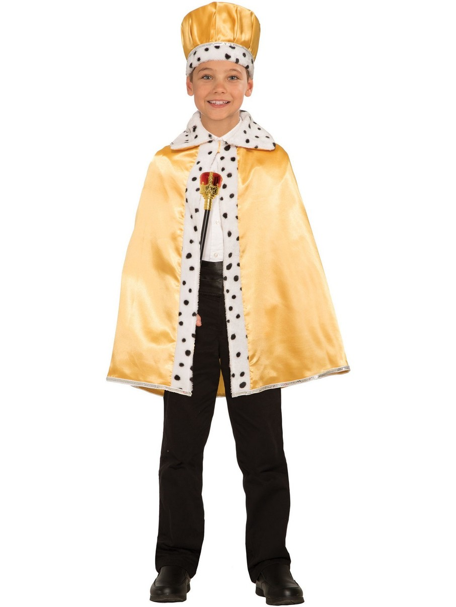 View larger image of Gold Royal Cape for Children