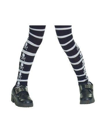 Skeleton Tights for Kids