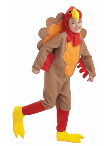 Children's Thanksgiving Turkey Costume