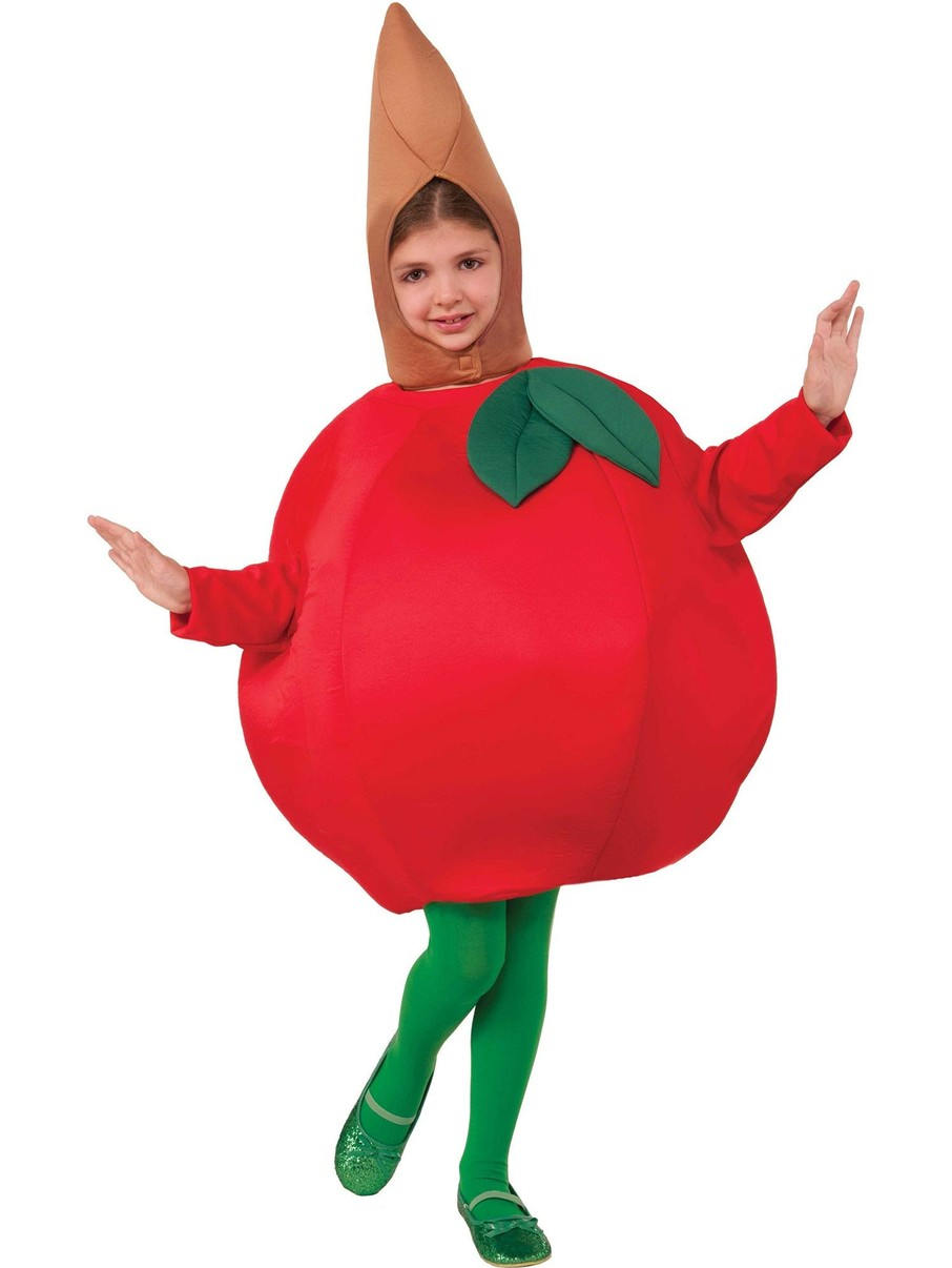 View larger image of Apple One-Size Costume for Kids