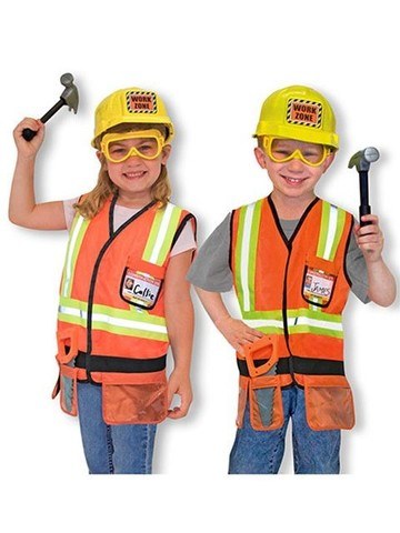 Child's Construction Worker Costume