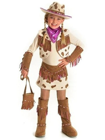 Rhinestone Cowgirl Costume for Girls