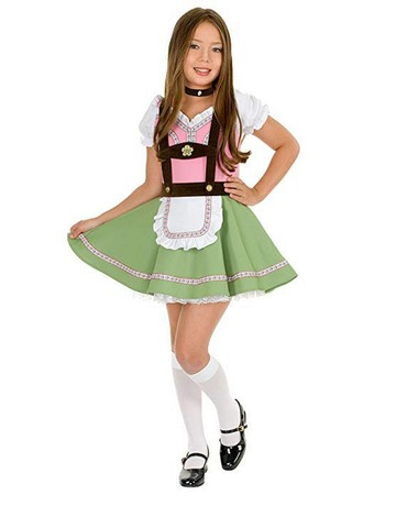 Childrens Alps Girl Costume