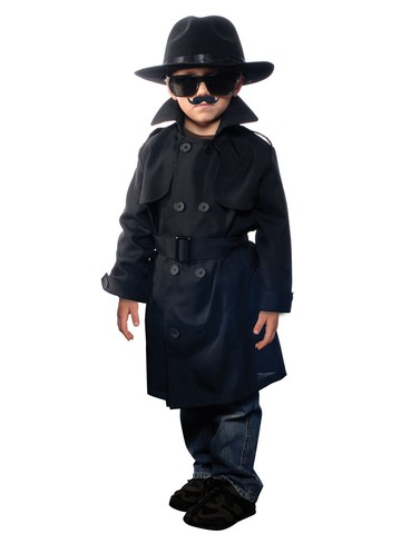 Childs Jr. Secret Agent Costume