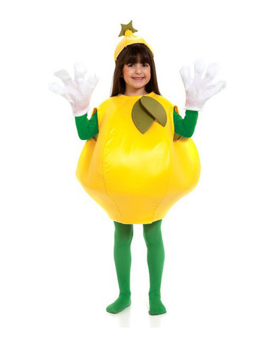 Lemon One-Size Costume for Kids