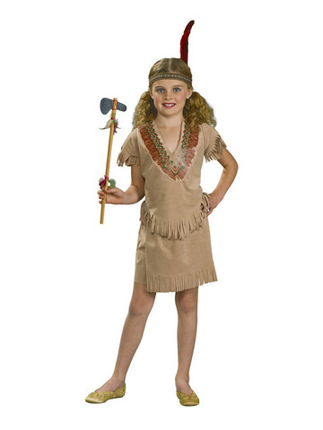 Childs Native Girl Costume