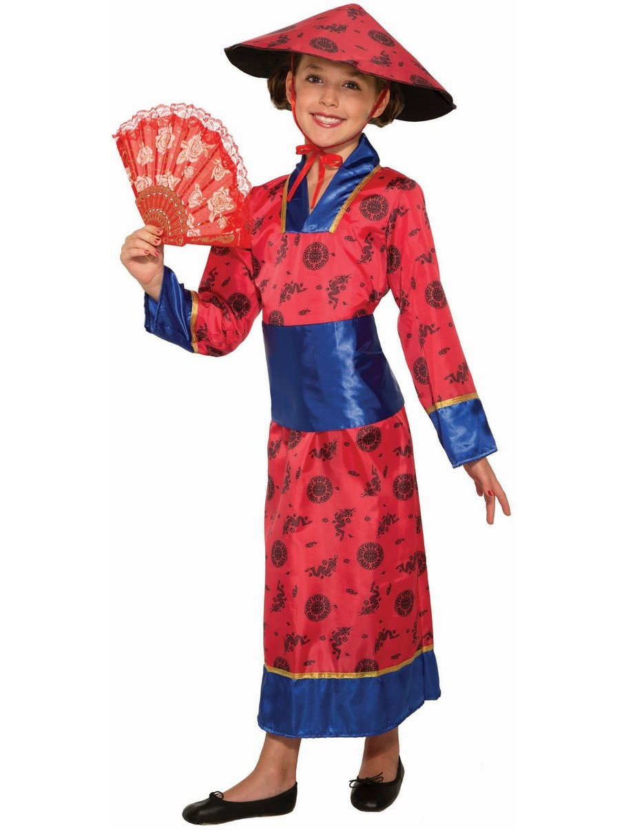 View larger image of Adult Chinese Girl Costume