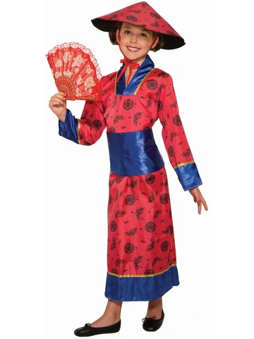 Adult Chinese Girl Costume