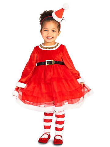 Toddler Chirstmas Diva Costume