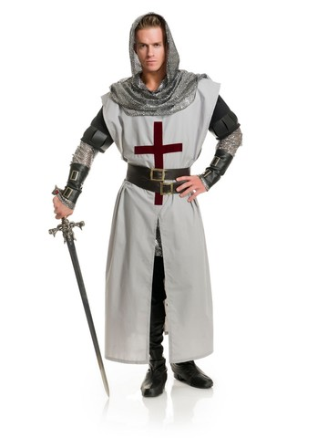 Chivalrous Knight Costume for Adults