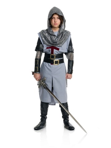 Chivalrous Knight Costume for Kids