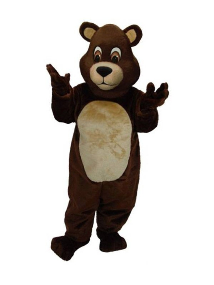 View larger image of Chocolate Teddy Bear Mascot Costume