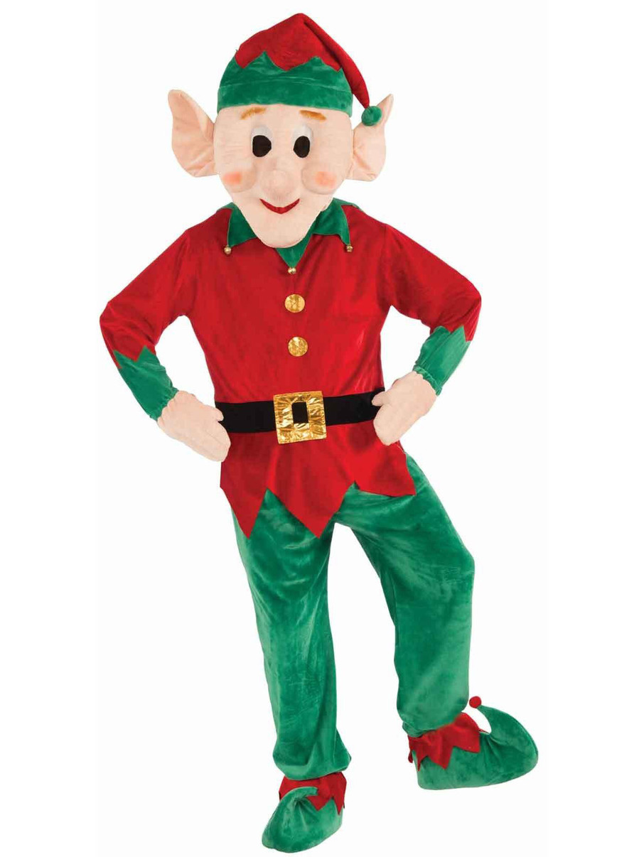 View larger image of Christmas Elf Mascot