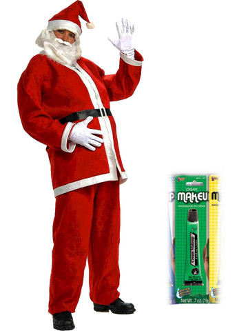 Christmas Mr. Mean One Character Costume for Men
