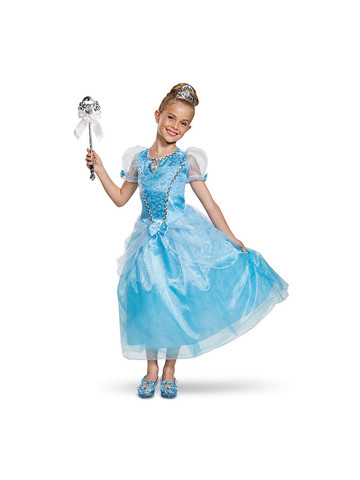 Cinderella Deluxe Girls Costume
