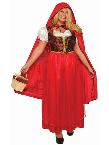 Classic Adult Red Riding Hood - Plus Costume