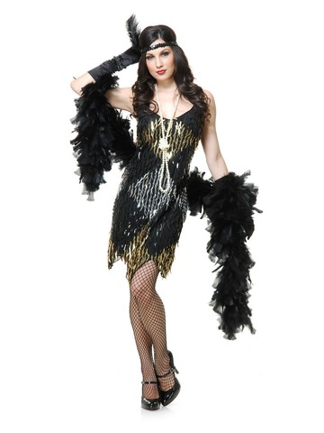 Women's Claw Sequin Dress