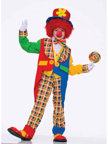 Clown Around Town Child Costume