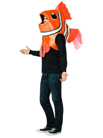 Clown Fish Costume for Adults
