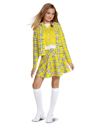 Clueless Cher Yellow Suit Classic Costume