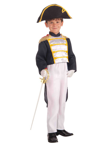 Child Colonial General Costume