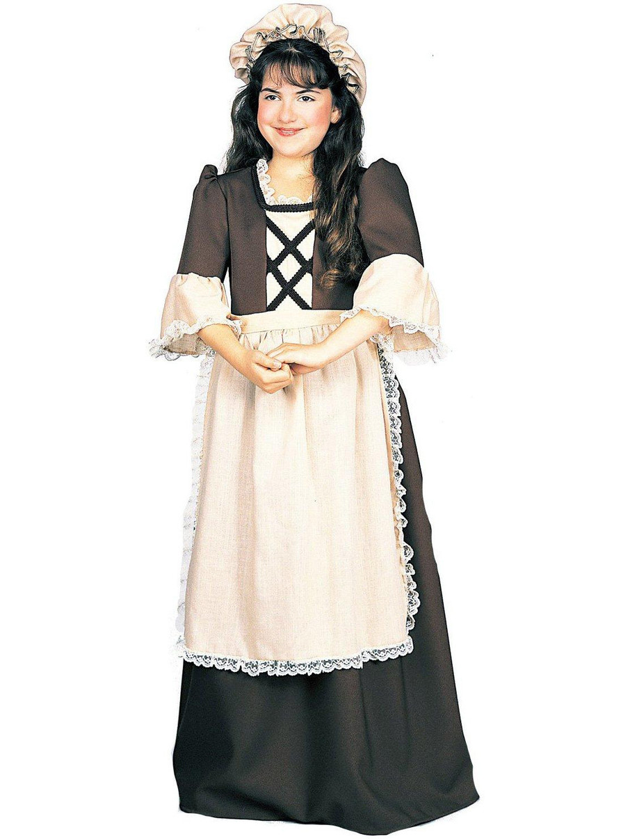 View larger image of Colonial Girl Child Costume