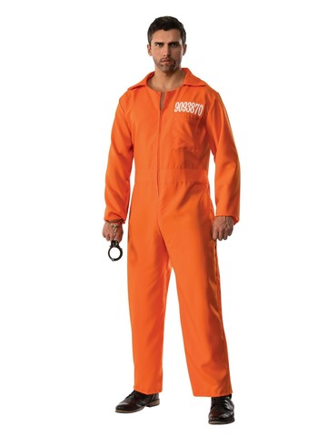 Convict Jumpsuit Costume