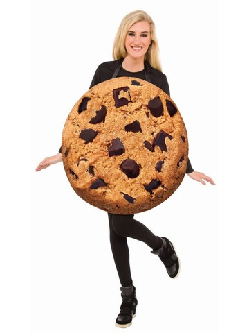 Chocolate Chip Cookie Adult Costume