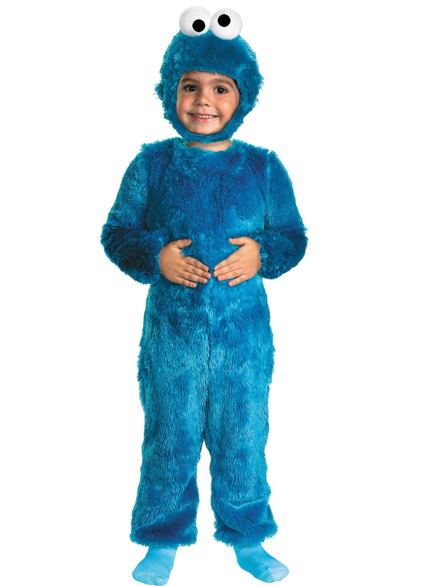 View larger image of Cookie Monster Comfy Toddler Costume