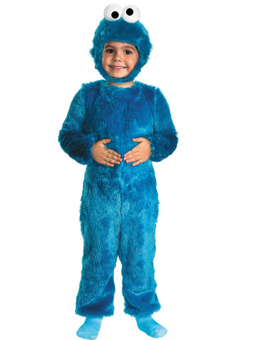 Cookie Monster Comfy Toddler Costume