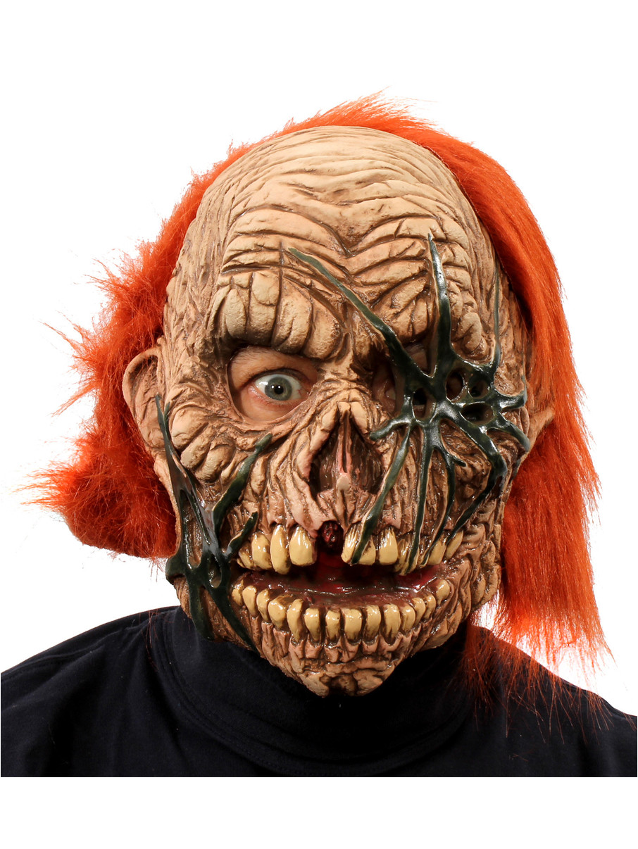 View larger image of Corpse Zombie Full Mask w/ Red Hair